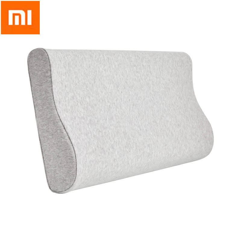 XIAOMI Mijia Full Antibacterial Neck Protection Pillow Neck Cotton Memory Pillow For Sleep Relaxation Massage Pillow Travel Home(China)