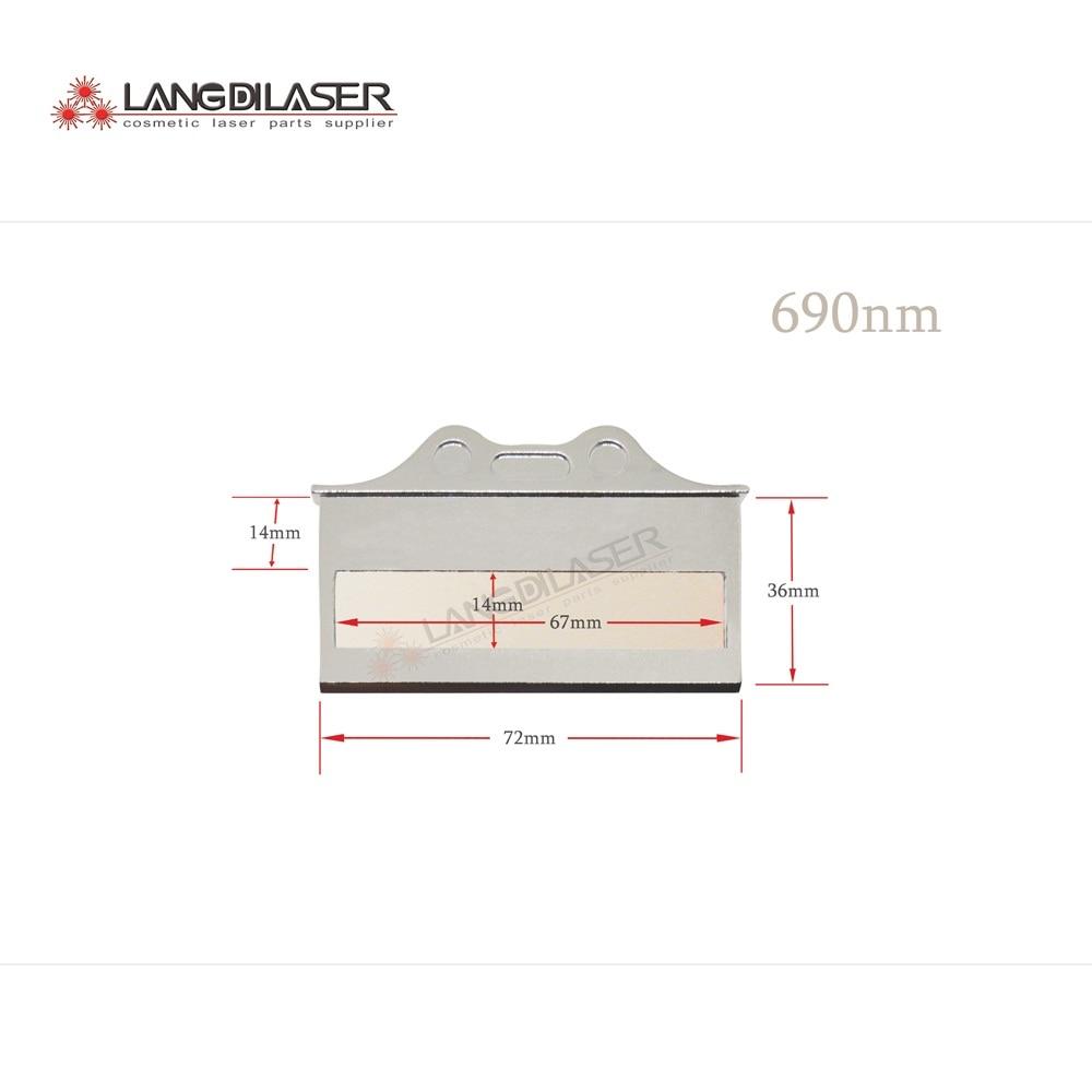 690nm filter for hair removal optic filter for IPL laser skin rejuvenation laser optic filters
