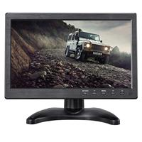 Uvusee 10.1 LCD HD Monitor&Computer Display Color Screen 2CH Video Input Security Camera Monitor With BNC / AVI / VGA / HDMI