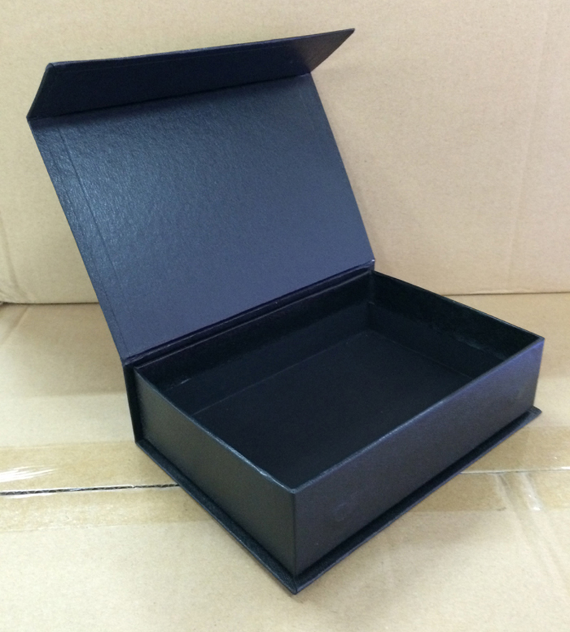 5 Pieces No Logo Evaginable Paper Packaging Box Gift Packaging Box Rectangular Gift Box Size 145x90x52MM 5.7x3.54x2.04 Inch