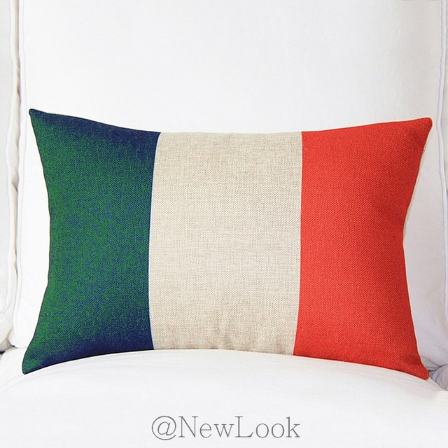 Italian Flag Of Italy Decorative Throw Pillows Decorate For A Sofa Simple Italian Decorative Pillows