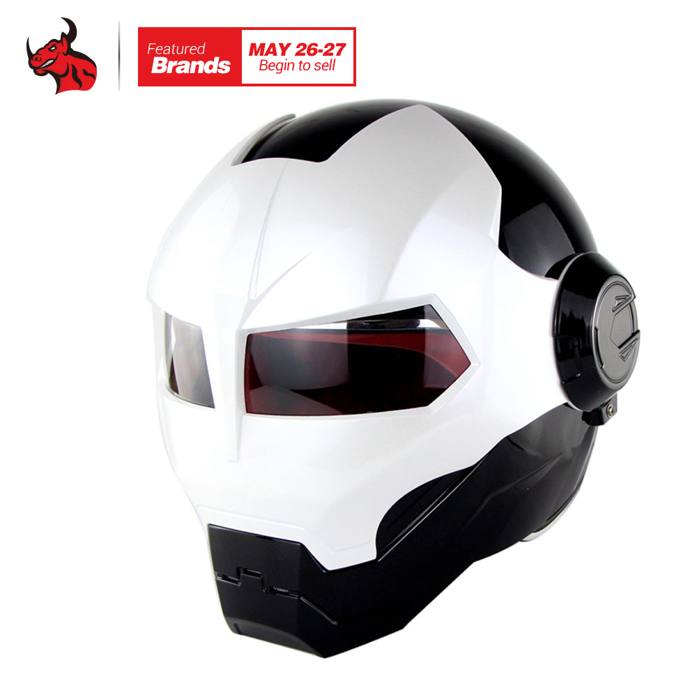 SOMAN Motorcycle Helmet Motorbike Capacetes Casco Retro Casque Motocross Helmet Motorcycle Moto Helmet masei mens womens war machine gray ironman iron man helmet motorcycle helmet half helmet open face helmet abs casque motocross