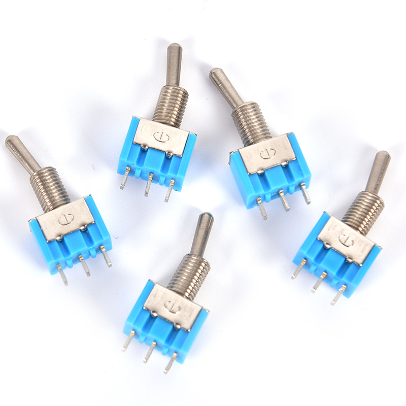 Mini MTS-102 3-Pin SPDT ON-ON 6A 125VAC Miniature Toggle Switches OT8G US ship