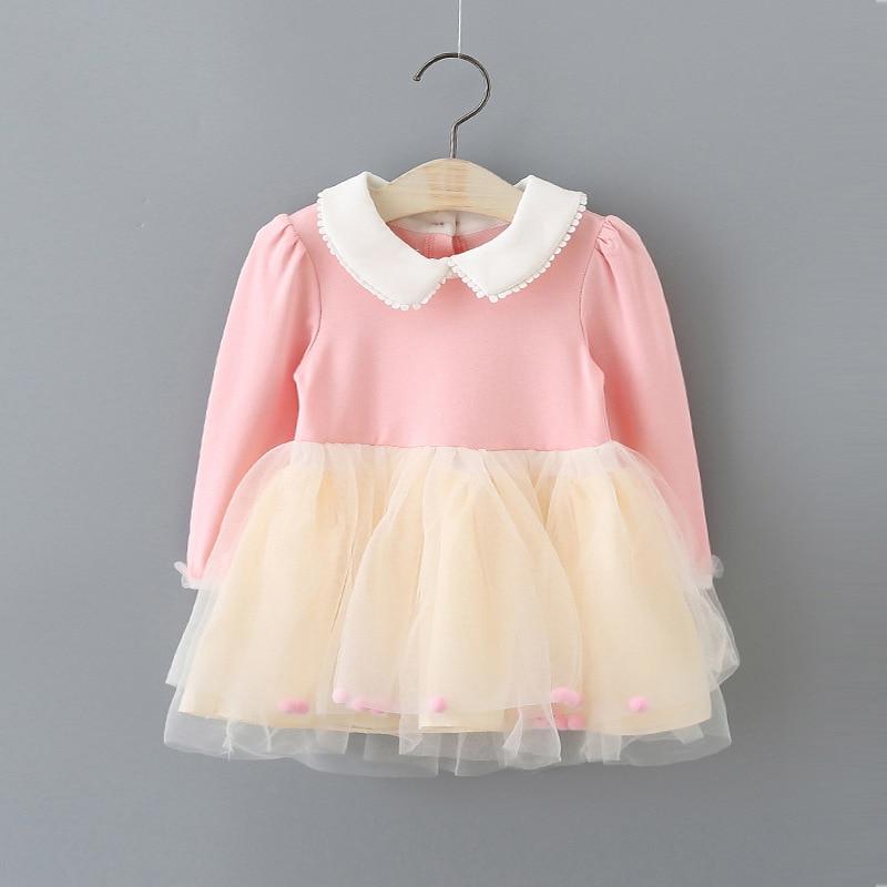 Baby Girls Mesh Princess šaty Dětské šaty Krásné děti - Oblečení pro miminka