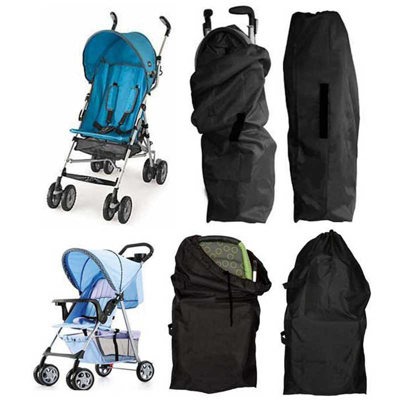 1Pc High Quality Baby Stroller Oxford Cloth Bag Buggy Travel Cover Case Umbrella Trolley Cover Bag Stroller Accessories ...