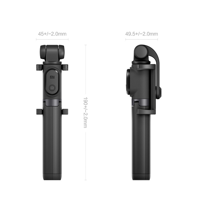 Original Xiaomi Foldable Tripod Selfie Stick Extendable Wireless Button Shutter with Bluetooth Remote For Android smartphones