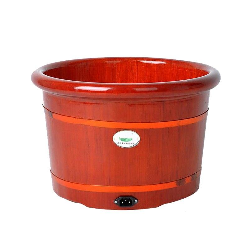 Beczki beczki automatyczne ogrzewanie masaż stóp kąpiel masaż stóp footbath umywalka do mycia głębokie baryłkę footbath bańka ciepła