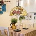 Europäischen Tiffany decke retro shell Mittelmeer pastoralen Decke Lichter luminaria teto Decke Lampen Für Home Dekoration
