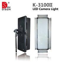 Dison K-3100II би-цветовая температура светодиодные лампы led видеокамеры света LED света камеры