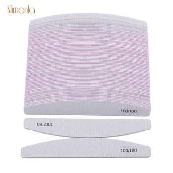 100pcs/lot Nail File 100/180 Sandpaper Sponge Nail Sanding Buffer Blocks Double-sided Cuticle Remover Manicure Tools - DISCOUNT ITEM  9% OFF All Category