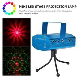 Lâmpada do projetor do palco do diodo emissor de luz controle de som céu estrelado festa decoração da lâmpada do laser do palco do diodo emissor de luz piscando barra ktv discoteca decoração