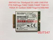 EM7455 00JT547 300 m para Thinkpad X1 Carbono 5th Gen, s3 L460 L560 P50 P70 P40Yoga T460 T460S T460P T560, X260 Yoga14/260/460