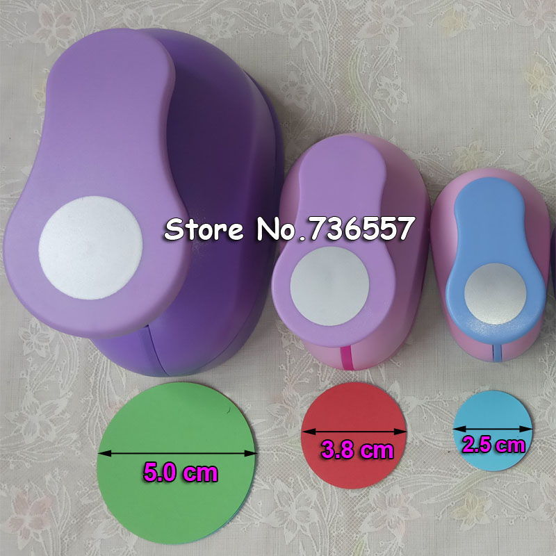 3PCS(5cm,3.8cm,2.5cm) Round shape craft punch set children manual DIY hole punches cortador de papel de scrapbook Circle punch3PCS(5cm,3.8cm,2.5cm) Round shape craft punch set children manual DIY hole punches cortador de papel de scrapbook Circle punch