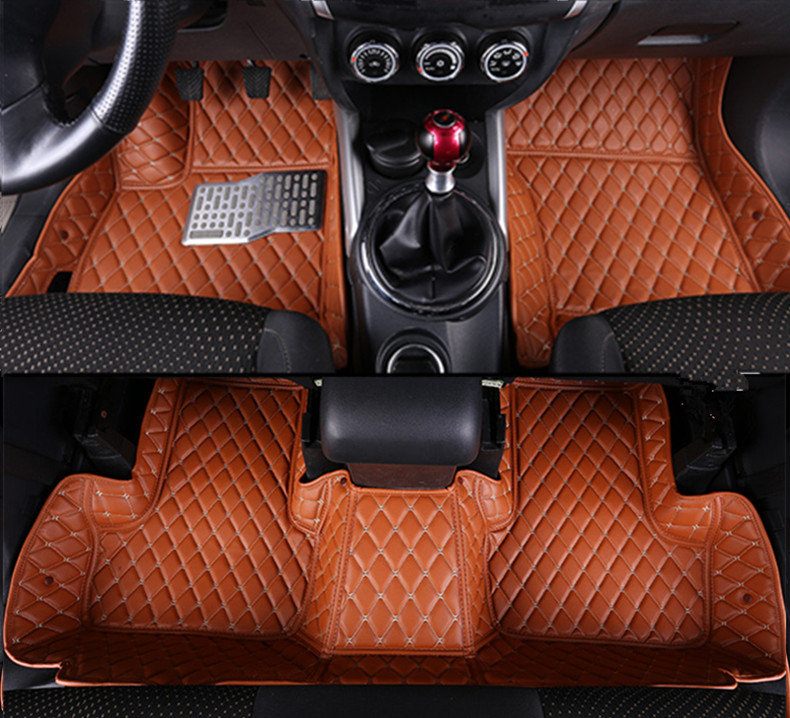 Custom fit car floor mats 3D car-styling liner for Mitsubishi ASX 2013 2014 2015 2016 auto accessories LHD waterproof mat car styling carpet photophobism dashboard protection pad mat for bmw 3 series f30 f31 2012 2013 2014 2015 2016 lhd car styling