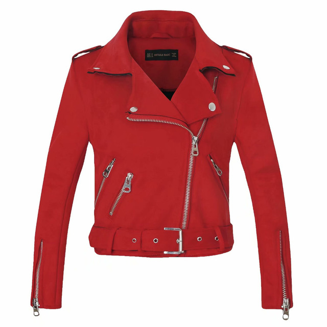 New Arrial Winter Suede Faux Leather Jackets 3