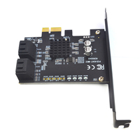 Durable Add On Riser Converter Adapter PCI Express To SATA3.0 4Port Computer Components SuperSpeed 6G Expansion Card PC