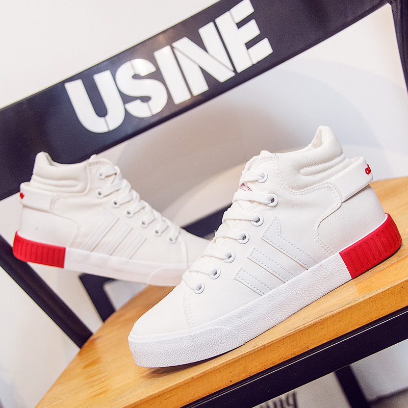 New canvas shoes Korean version of comfortable tie student shoes chaussures femme sneakers shoes vapormax sneakers men