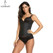 9 Steel Boned Shapewear Extra Strong Latex Waist Trainer Workout Belt Slimming Waist Cincher Trimmer Long Torso Body Shaper Wrap(China)