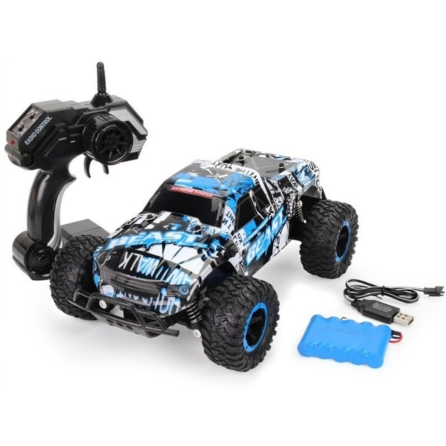 48KM/H High Speed RC Car 1:20 Electric Monster Car Off Road Vehicle Remote Control Toys for Kids 3