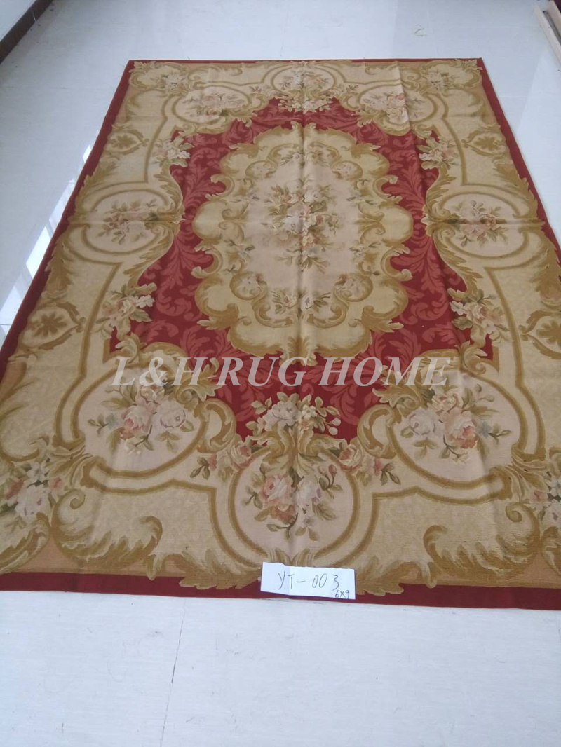 Free Shipping 6X9 French Aubusson rug hand woven100% New Zealand wool rugs and carpetsFree Shipping 6X9 French Aubusson rug hand woven100% New Zealand wool rugs and carpets