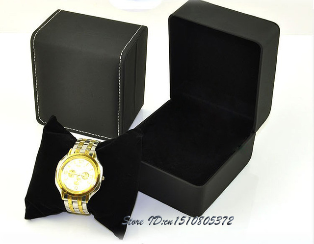 High Quality Leather Single Watch Packaging Box Watch Storage Box