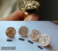 Retro Harry Potter Hogwarts HOG Wax Seal Stamp Copper Head DIY Scrapbooking Vintage Sealing Wedding Envelop