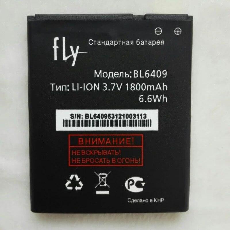 100% Original Fly BL6409 1800mAh Replacement Li-ion Polymer Battery Bateria for Fly Iq4406 Era Nano 6 Batterie Accumulator