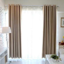 Curtains For Living Dining Room Bedroom Windows Shading thicken blackout insulation 1pc curtain high-grade precision