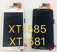 BestNull XT1581 XT1585 LCD Display+Touch Screen Panel Digitizer Accessories For Motorola Moto Droid Turbo 2 Mobile phone+Track