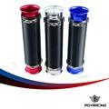 CORRIDA PQY-Universal 76mm Turbo Air Multi Flexível Intake Cachimbo (sliver, vermelho, azul) PQY-IPT11