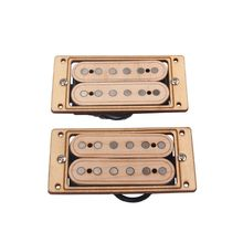 2pcs/set Maple Wood 6-string Humbucker Pickups for Electric Guitar Replacement Parts Accessory