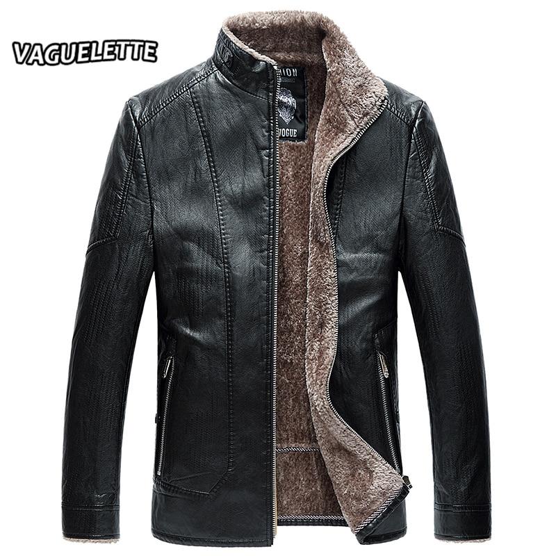 luxury mens leather jacket and coat fleece retro mens