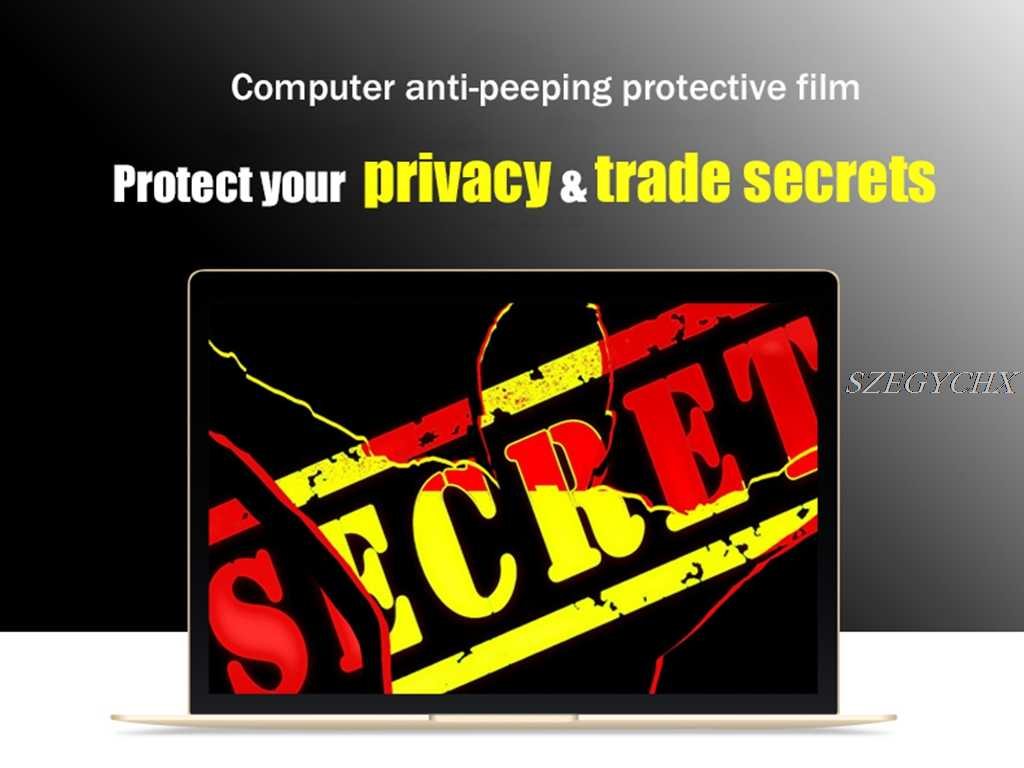 アップルのmacbook pro 13.3 cd romプライバシーフィルターアンチグレア画面保護フィルム、ノートパソコン用31.83センチ* 21.24センチ
