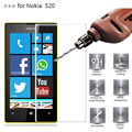 2.5D 0.26mm 9H Premium Tempered Glass For Nokia Lumia 520 Screen Protector Toughened protective film For Nokia 520 Glass *
