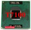 Lifetime warranty Core 2 Duo T7100 1.8GHz 2M 800 Dual Notebook processors Laptop CPU Socket PGA 478 pin Computer Original