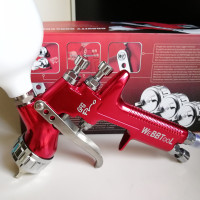 NEW SPRAY GUN GFG pro Professional 1.3mm Gravity Feed free shipping auto paint painted high efficiency