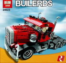 Lepin 24023 Creative Changing Series 3 in1 Truck Set Children Educational Building Blocks Bricks Toys Model Gift