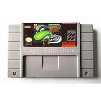 Super nintendo sfc/snes jogo hero teenage mutant turtles fighters cartucho de jogo de vídeo console ntsc cartão versão dos eua