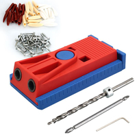 Inclined Hole Locator Woodworking Punching Device Electric Drill Positioning Drilling Kit DIY Woodworking Assembling