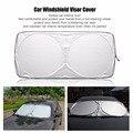 150*70cm Car Window Sun Shade Auto Front Rear Window Sun Shade Car Windshield Visor Cover Block Sunshade Foldable Cover 1pcs