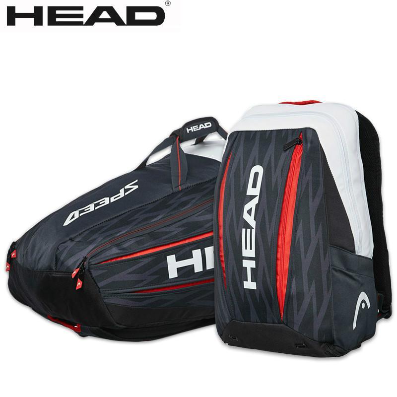 Genuine Head Wimbledon Novak Djokovic Tennis Bag For 9 Pieces Racket Backpack Multi Function Bags Raquete De Tenis Sport Bag Tennis Raquet Bag For Tennisbag For Aliexpress