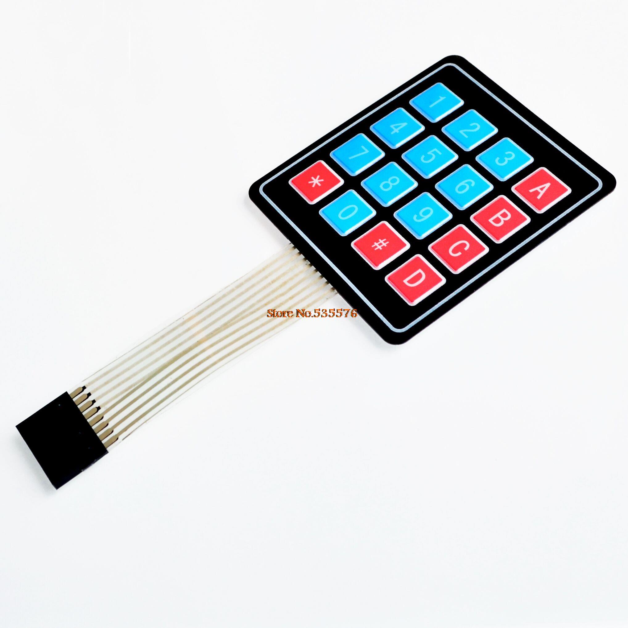 Matrix array keyboard key membrane switch