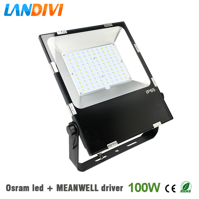 100w outdoor led flood light fixture osram led ultrathin 5years 100w outdoor led flood light fixture osram led ultrathin 5years warranty ip65 waterproof spot lighting aloadofball Images