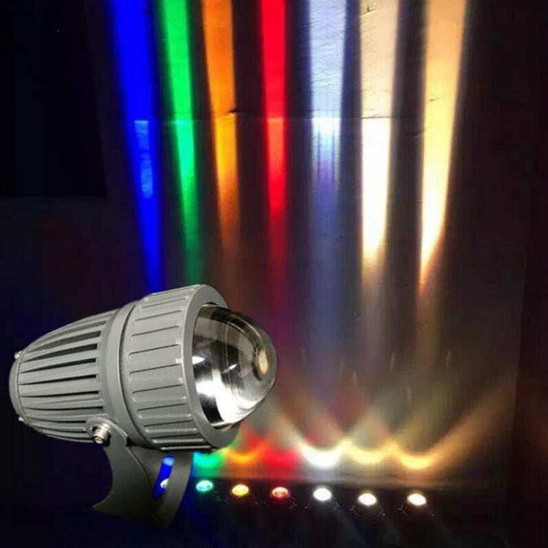 10W 12W 15W CREE жарықты шағылыстыратын шам Жарықдиодты жарық суға төзімді сыртқы қашықтық шамы 10W ультра жарқын шам