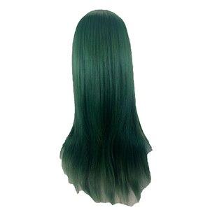 Image 4 - HAIRJOY כתום ירוק סגול מסיבת תחפושות פאת קוספליי ארוך ישר סינטטי שיער פאות 15 צבעים זמין משלוח חינם