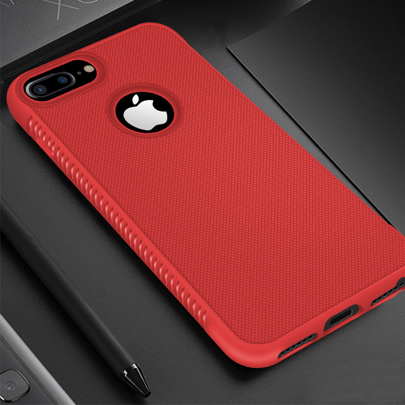 Rugged Case For iPhone X XR XS Max Cover Silicon Bumper Matte Cases For iPhone 6S 6 7 8 Plus 11 Pro 7Plus Shockproof Back Cover