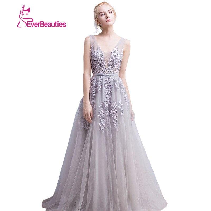 Vestido de festa Νέο Coming V Λαιμός με Lace Appliques - Ειδικές φορέματα περίπτωσης - Φωτογραφία 4