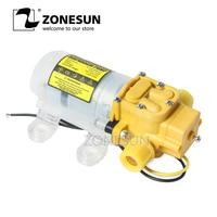 ZONESUN Diaphragm Water Pump For Filling Machine Small Safe High Pressure Self Priming Pump 3.6L/min