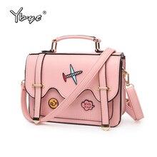 YBYT brand 2017 new cartoon cute girl handbags preppy style ladies shopping bag satchel small shoulder messenger crossbody bags