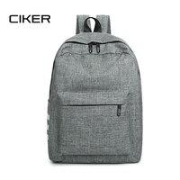 CIKER Fashion Preppy Style Canvas Backpack Women School Bags Backpacks For Teenage Girls Rucksack Waterproof Travel